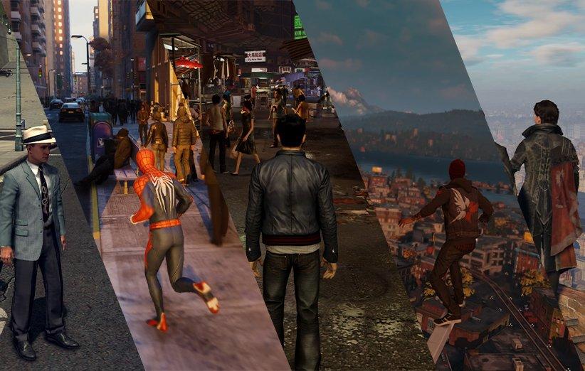 شهر واقعی در بازی های ویدیویی