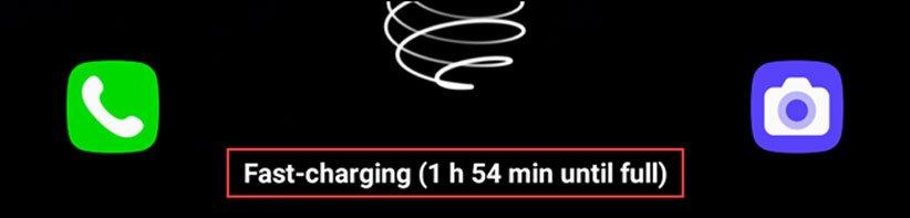سرعت شارژ گوشی