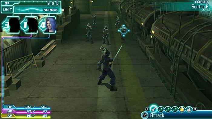 بازی Crisis Core