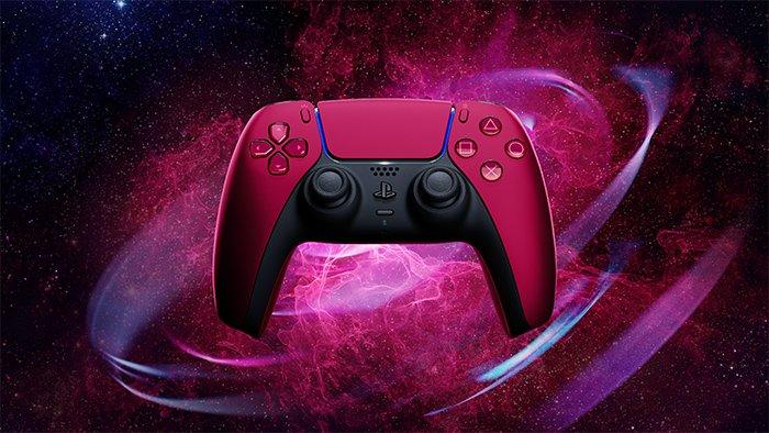 دسته PS5 قرمز
