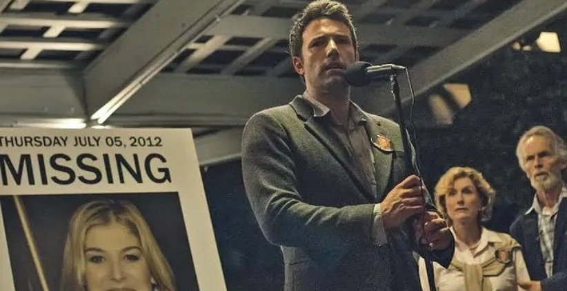 بن افلک در فیلم دختر گمشده