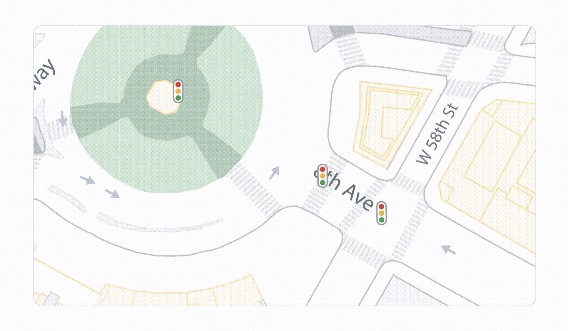 طراحی دقیق خیابان و پیاده رو در گوگل مپ