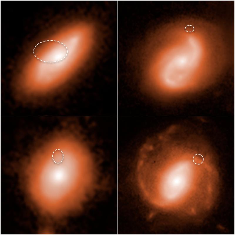 منشأ 4 فوران رادیویی سریع در کهکشانهای مارپیچی