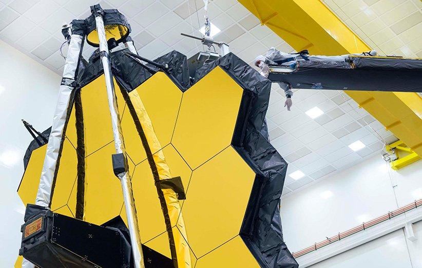 آخرین آزمایش آینهی تلسکوپ فضایی جیمز وب روی زمین