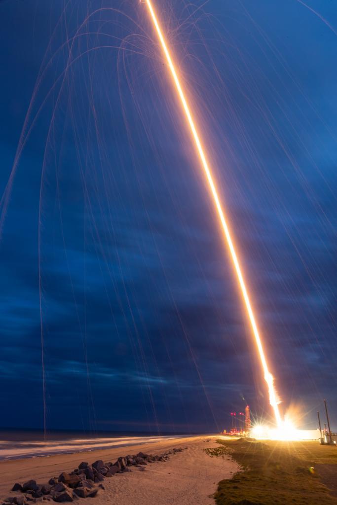 پرتاب موشک بلک برنت 12 در مأموریت کینت-ایکس ناسا