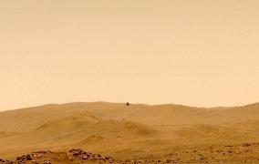 پرواز پنجم بالگرد نبوغ در مریخ