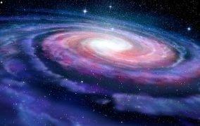 طرحی گرافیکی از کهکشان راه شیری