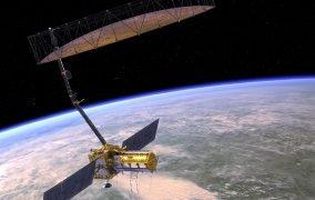طرح گرافیکی ماهوارهی نیسار