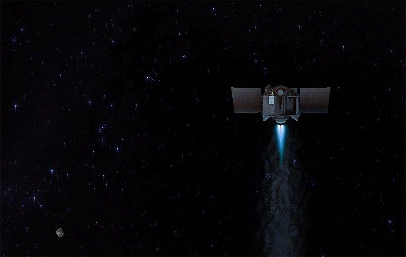 خداحافظی فضاپیمای اسیریس-رکس ناسا با سیارک بنو