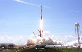 پرتاب موشک فالکون 9 در مأموریت استارلینک 25