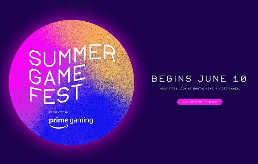 لوگو رویداد Summer Game Fest