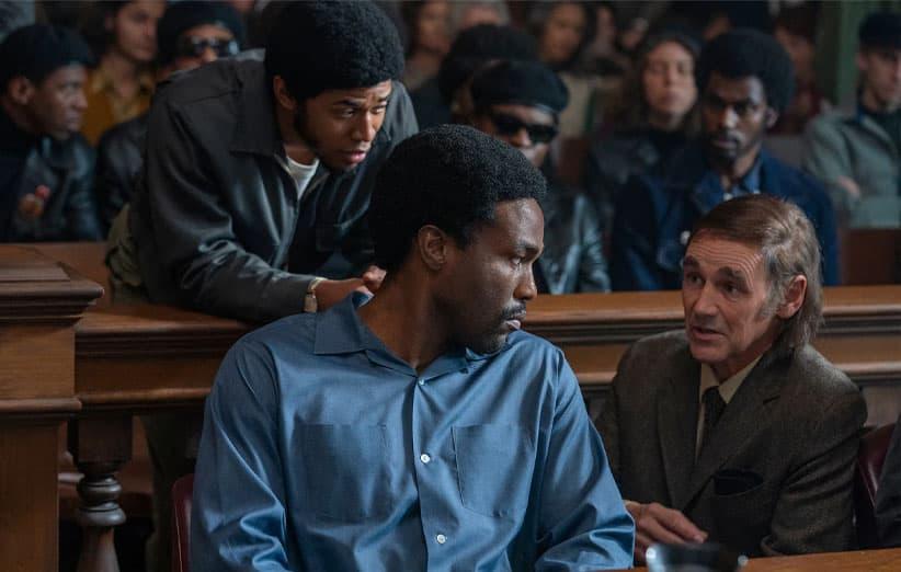 مایک رایلنس در فیلم دادگاه شیکاگو هفت