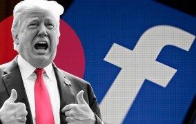 دونالد ترامپ فیسبوک