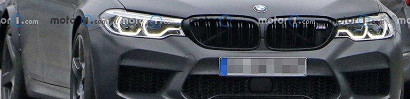 مدل جدید BMW M5 با چهرهای متفاوت در عکسهای لو رفته دیده شد