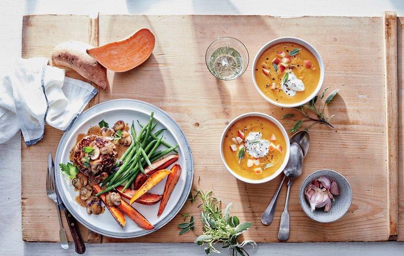 سوپ لوبیا و سیبزمینی برای سحری