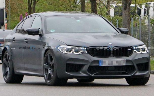 خودروی آزمایشی BMW M5