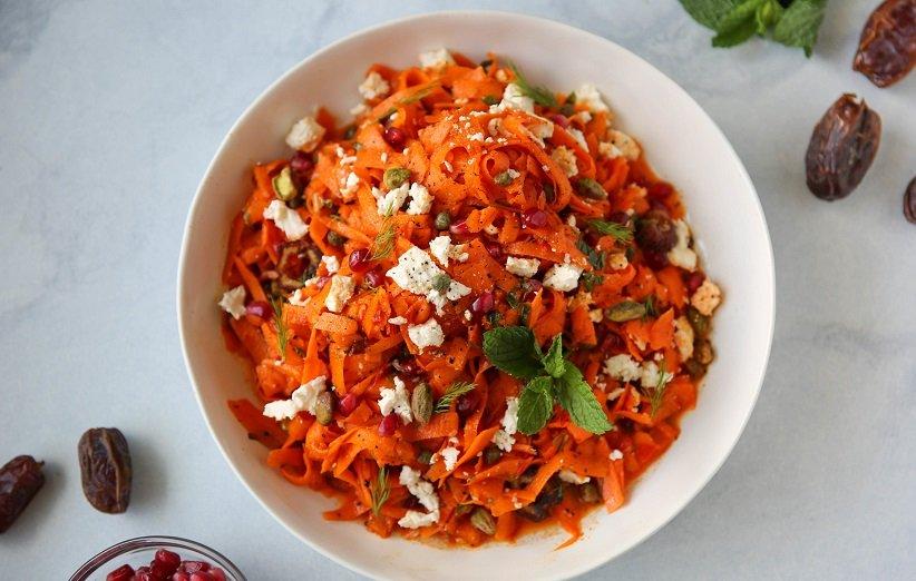 انار و هویج