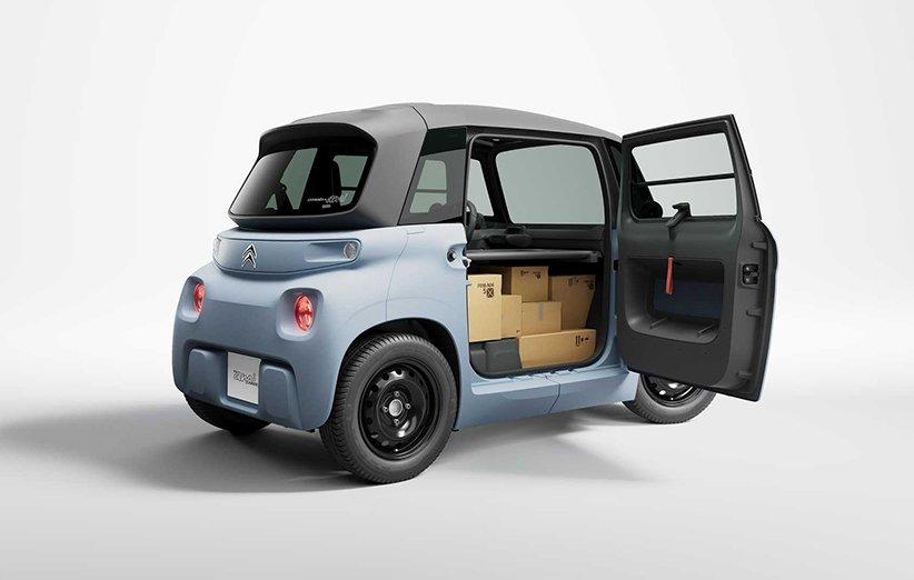 سیتروئن خودروی الکتریکی کوچک «مای امی» را برای حمل کالا رونمایی کرد