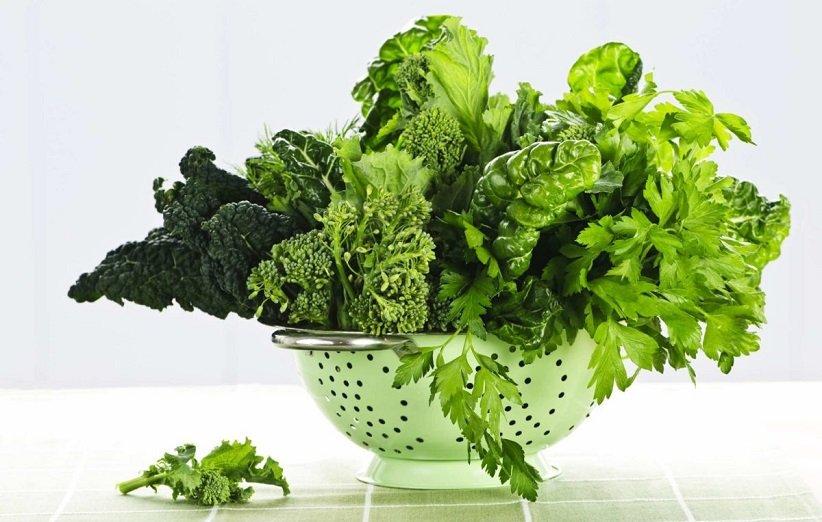 سبزیجات برگدار برای کاهش وزن