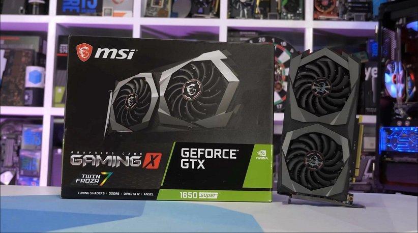 کارت گرافیک GTX 1650 Super Twin Fan MSI