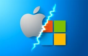 رقابت اپل و مایکروسافت