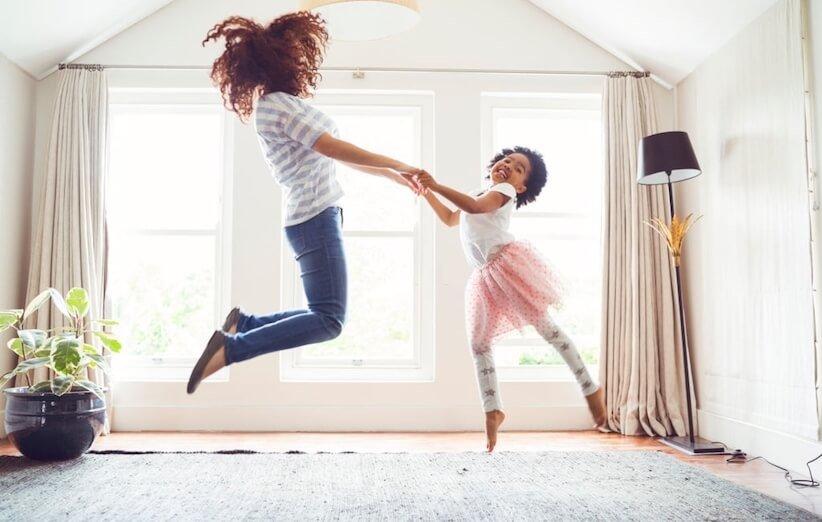 تربیت فرزندان - با هم برقصید