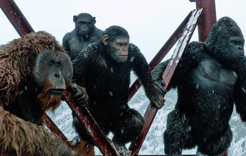 جنگ سیارهی میمونها