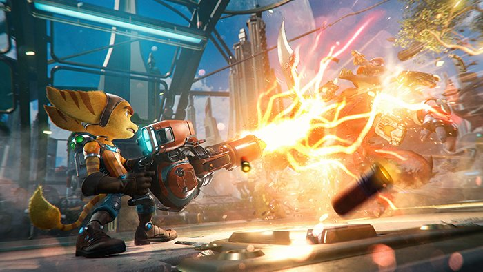 بازی Ratchet and Clank Rift Apart