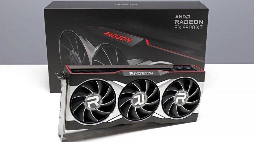 کارت گرافیک Radeon RX 6800 XT