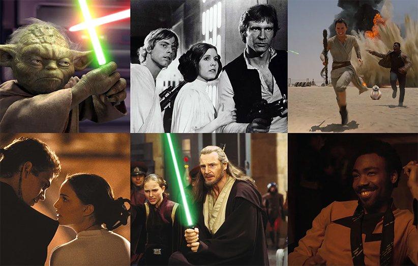 بهترین فیلمهای جنگ ستارگان