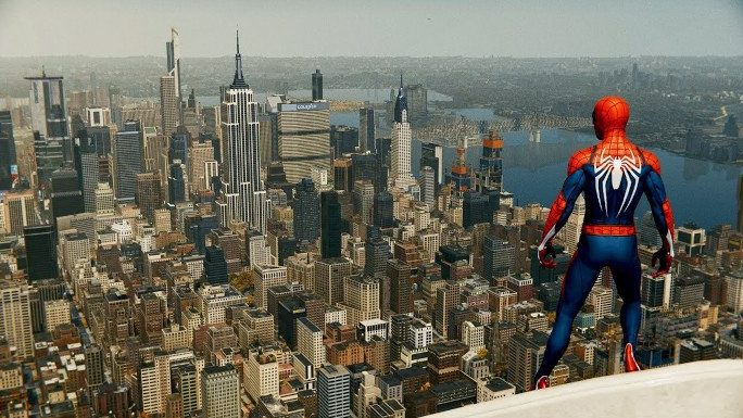 نیویورک، آمریکا / Spider-Man (PS4)