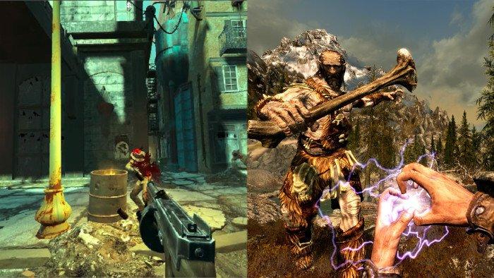 Skyrim VR Fallout 4 VR