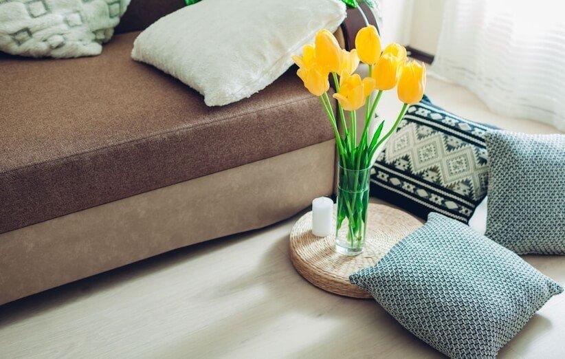 10. یک منطقهی آسایش در خانه ایجاد کنید