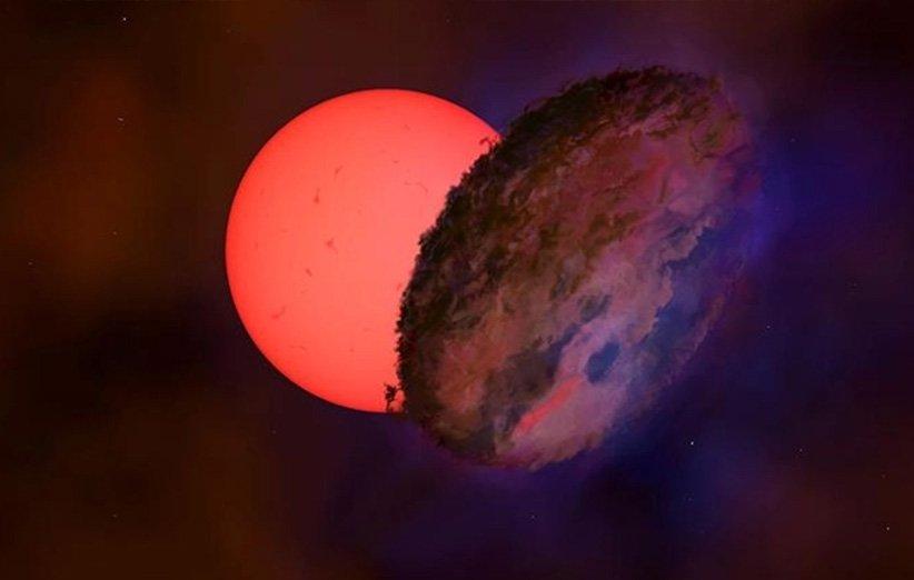 ستارهی چشمکزن در نزدیکی قلب راه شیری با یک جرم ناشناخته پنهان میشود