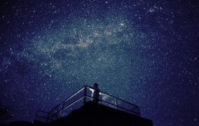 گوشهای از آسمان شب