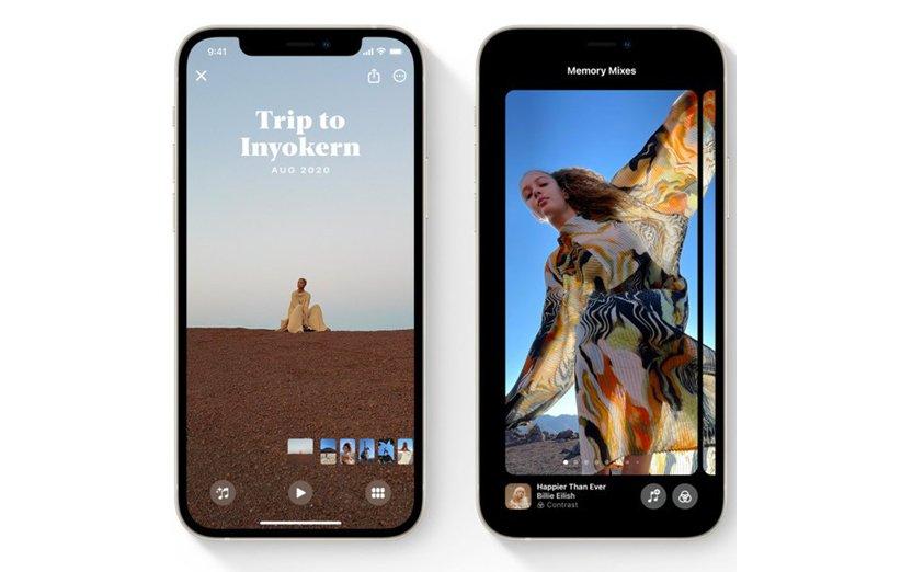 اپل فوتوز - iOS 15 اندروید