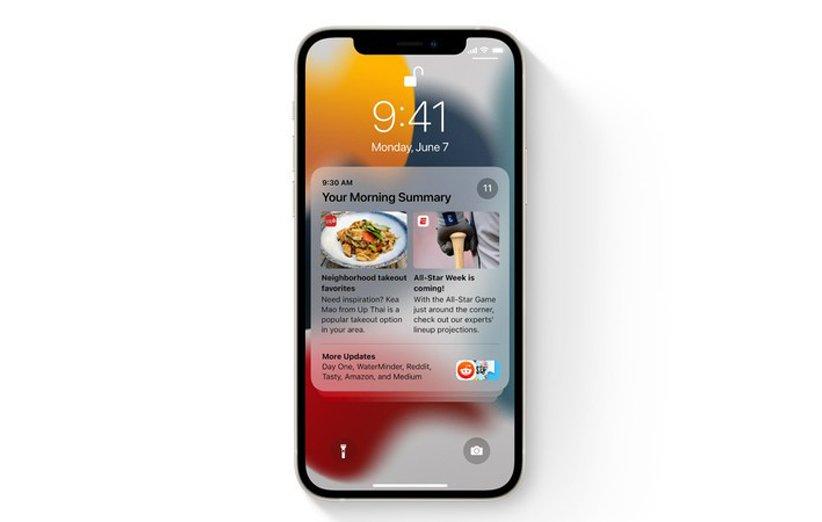iOS 15 اندروید