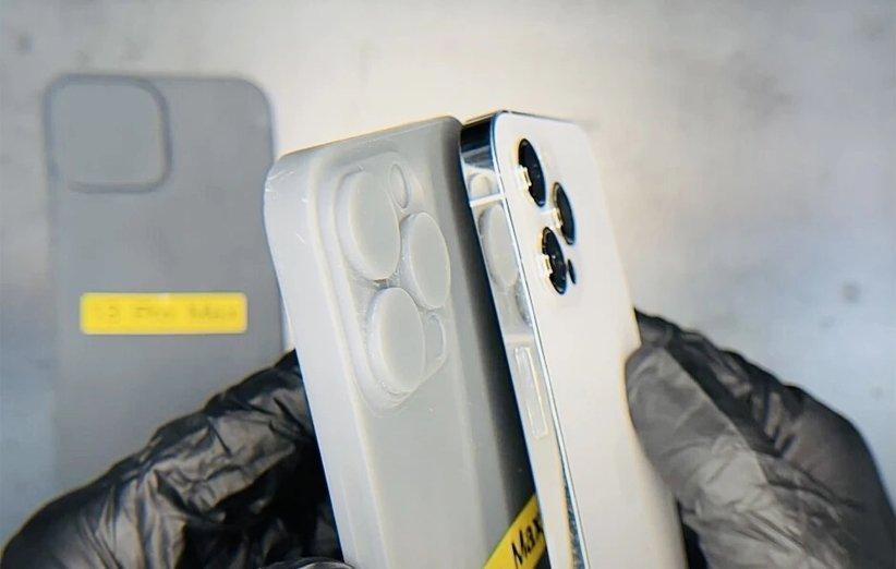 اندازهی احتمالی برآمدگی دوربین در آیفون 13