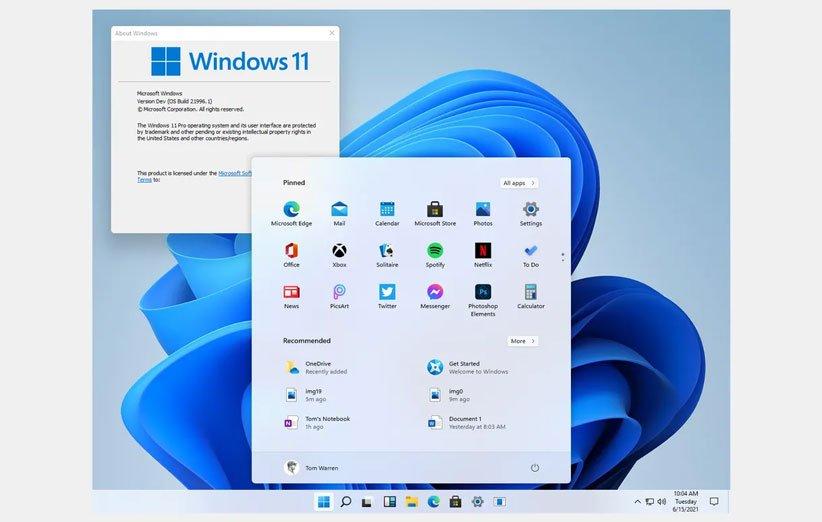 تصاویر لو رفته از ویندوز ۱۱ طراحی جدید رابط کاربری را نشان میدهند