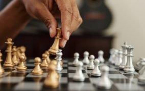 مهرههای بازی شطرنج