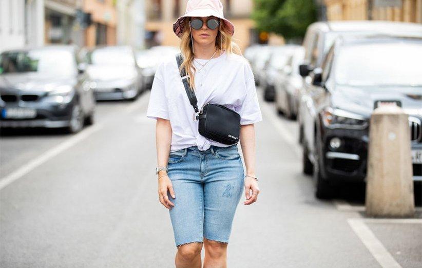 چگونه شلوار برمودا بپوشیم برمودای جین