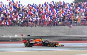 مکس فرستاپن در جایزه بزرگ فرانسه از رقابتهای فرمول یک 2021