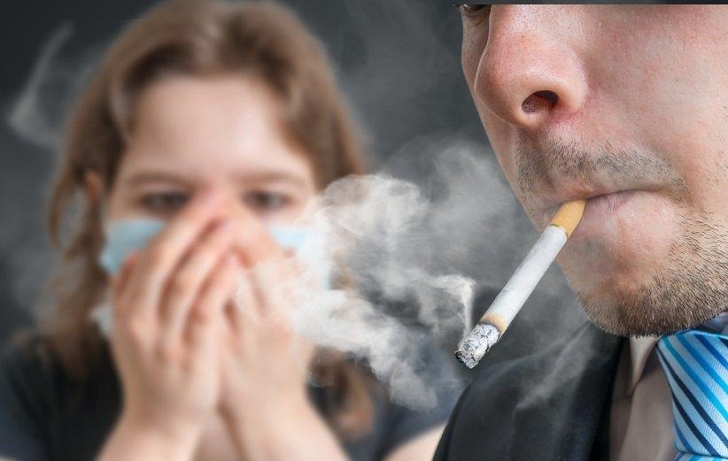 استعمال دخانیات و بوی بد دهان