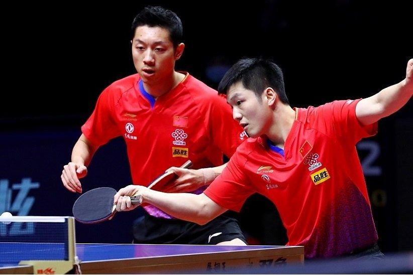 رکورد چین با 53 مدال طلا در تنیس روی میز