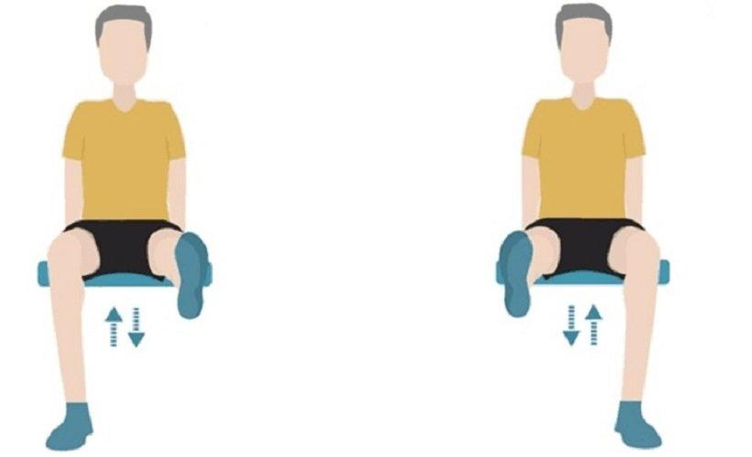 «دراز کردن زانو نشسته» (Knee Extensions)