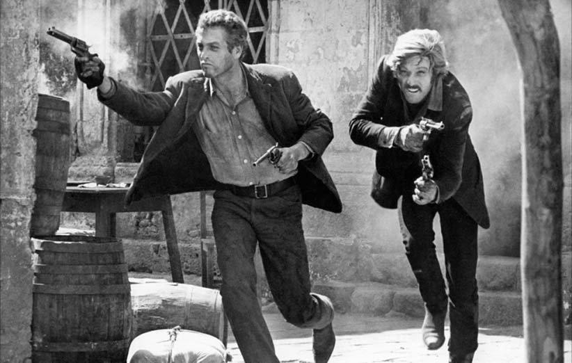بوچ کسیدی و ساندنس کید. ۱۹۶۹. پل نیومن