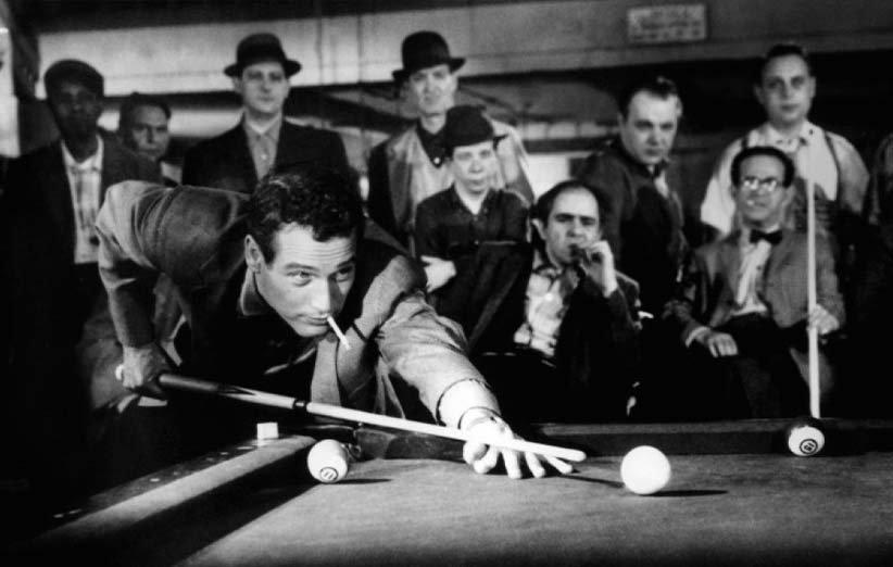 بیلیاردباز. ۱۹۶۱. پل نیومن