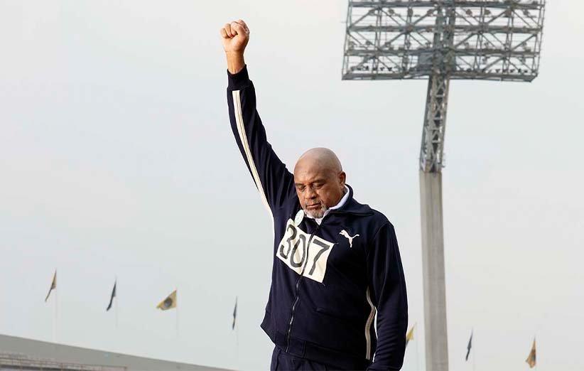 با بازوان کشیده. ۲۰۲۰. المپیک