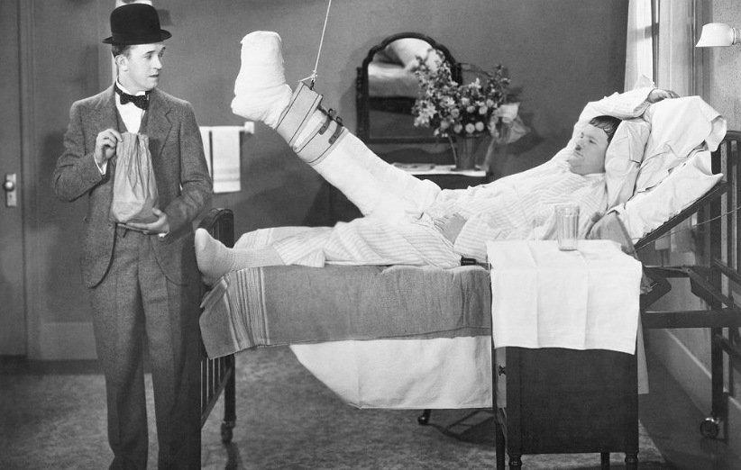 لورل و هاردی در بیمارستان ایالت
