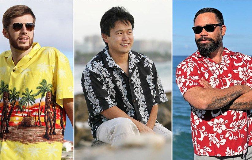 طرح های پیراهن هاوایی